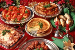 feste di natale a tavola
