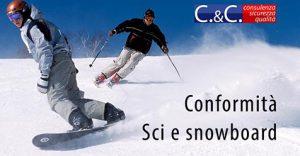 Conformità di sci e snowboard