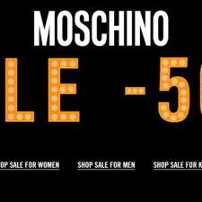 MOSCHINO OFFRE IL 50% DI SCONTO PER LA STAGIONE SALDI VERY GLAM!