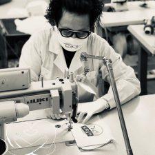 Economia: da ricamificio a fabbrica di mascherine fashion