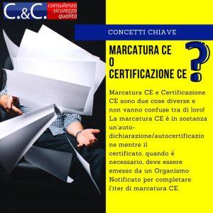 Perché la marcatura invece che la certificazione